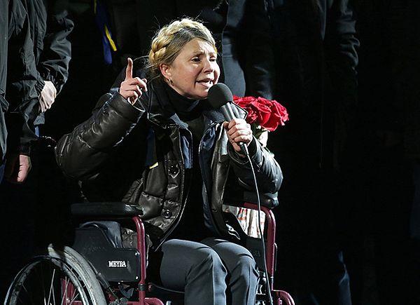 Przemówienie Julii Tymoszenko na Majdanie