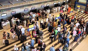 Strajk straży granicznej na lotniskach - opóźnienia lotów