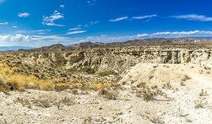 Pustynny krajobraz Tabernas