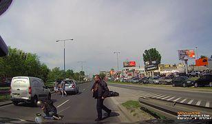 Wypadek z udziałem motocyklisty. Kto był winny?