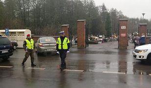 Policję na drogach wspierała Żandarmeria Wojskowa