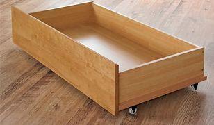 Praktyczne szuflady pod łóżko. Zrób to sam!