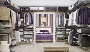 Wyposażenie garderoby. Kobieca przestrzeń w domu