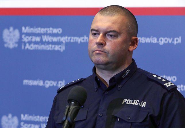 Komendant CBŚP insp. Kamil Bracha
