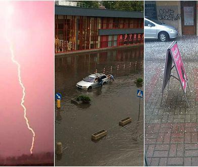 Potężne burze przeszły nad Polską. Te zdjęcia robią wrażenie