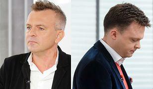Pokłosie wywiadu WP z Szymonem Hołownią: ostra wymiana zdań w sieci