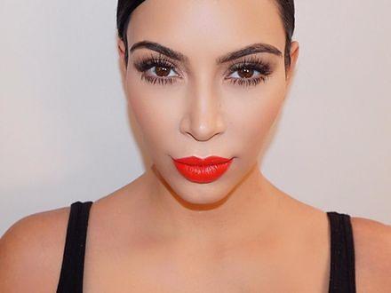 Kim Kardashian i jej organiczny botoks na okres ciąży