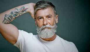 Skończył 60 lat i został modelem