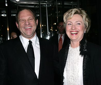 """Hilary Clinton skomentowała sprawę Harveya Weinsteina. """"Zrobiło mi się niedobrze"""""""