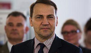 """Szef litewskiej dyplomacji skomentował słowa Radosława Sikorskiego. """"To smutne"""""""