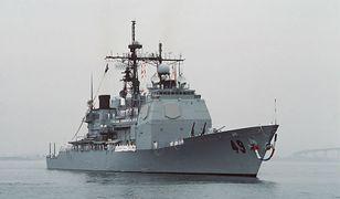 "USS ""Vincennes"" w 1988 roku"