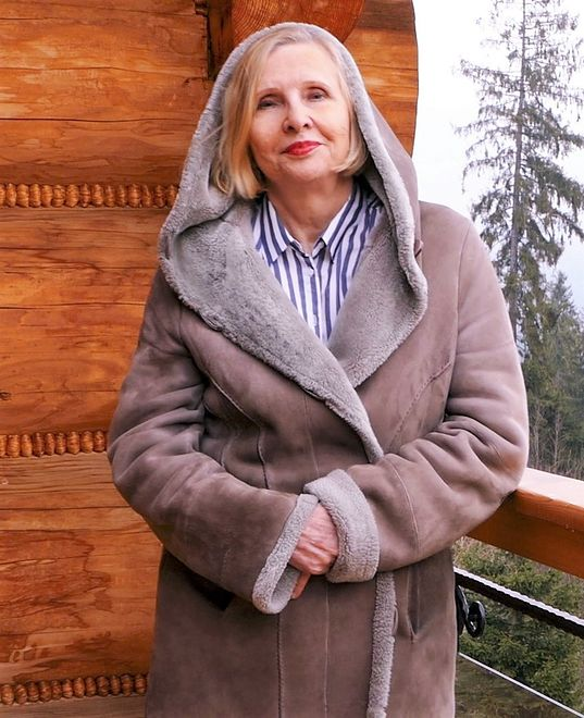 """Maria Nurowska, autorka książki """"Dziesięć godzin"""""""