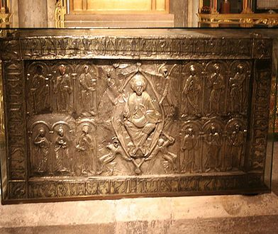 Relikwiarz z Chustą z Oviedo
