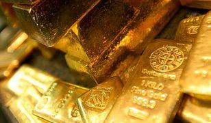 Złoto kosztuje ponad 1,3 tys. dol. za uncję - po raz pierwszy od ośmiu miesięcy