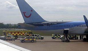 Incydent w samolocie. Maszyna zmuszona do lądowania w Bristolu
