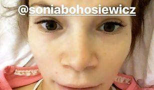 Maja Bohosiewicz zachwycona warunkami w szpitalu
