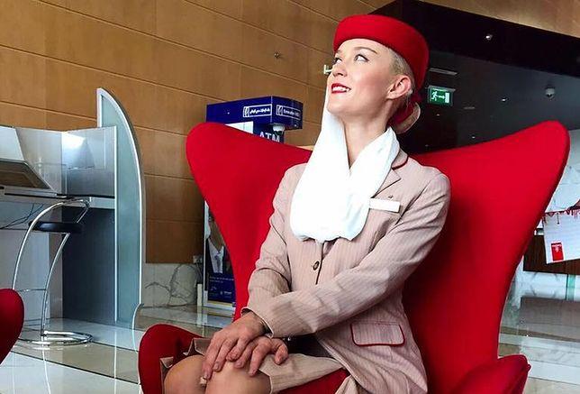 Marietta jako stewardesa pracuje od lipca 2016