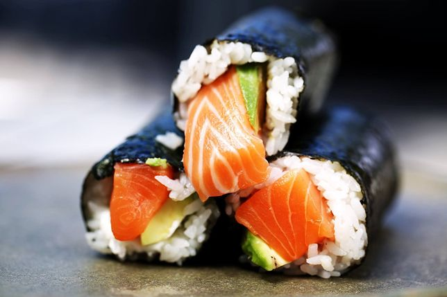 Rolki sushi