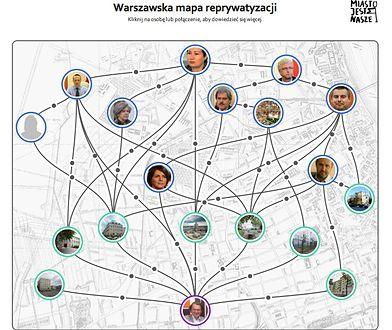 Warszawska mapa reprywatyzacji [infografiki]
