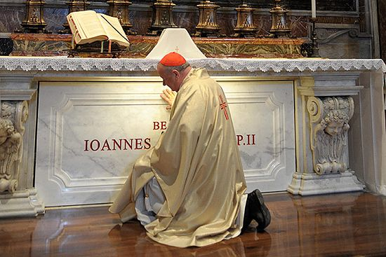 Tu zobaczysz grób Jana Pawła II przez kamerę internetową