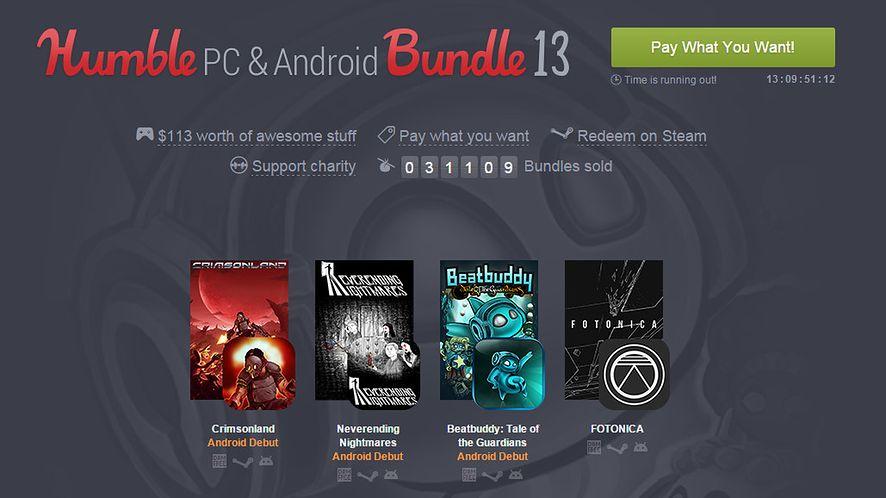 Gry na PC i Androida motywem przewodnim nowego Humble Bundle