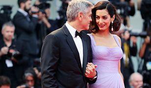 George i Amal Clooney podczas 74. Festiwalu Filmowego w Wenecji