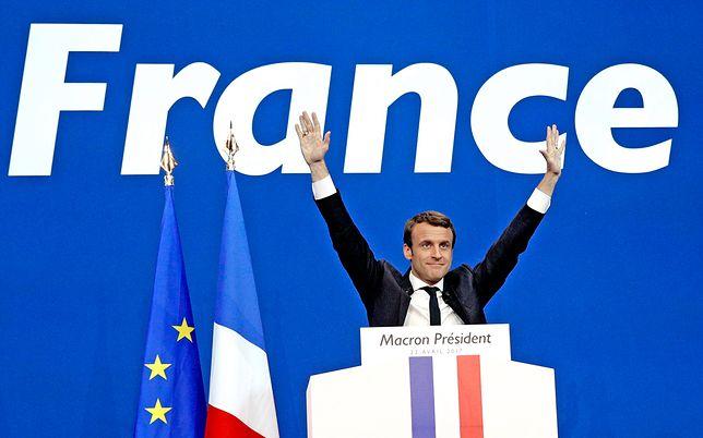 Wybory we Francji. Partia Macrona z bezwzględną większością