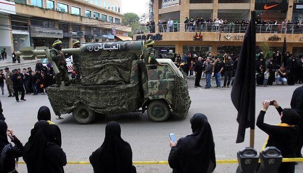 Parada Hezbollahu; Liban, październik 2015 r.