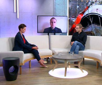 """Małgorzata Serafin (Telewizja WP), Marcin Makowski (Wirtualna Polska, """"Do Rzeczy""""), Sławomir Sierakowski (""""Krytyka Polityczna"""")"""