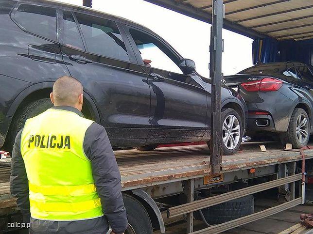 Polska i niemiecka policja rozbiła grupę złodziei luksusowych aut