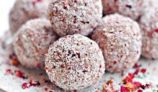 Trufle kokosowo-różane