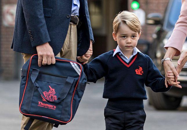 Próba kradzieży w szkole księcia George'a