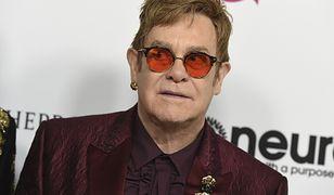 Huczne urodziny Eltona Johna. Tylko on jest w stanie zgromadzić tylu gości