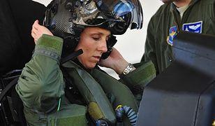 Christine Mau - kobieta za sterami F-35