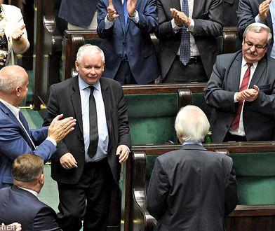 Jarosław Kaczyński spotkał się z parlamentarzystami Zjednoczonej Prawicy