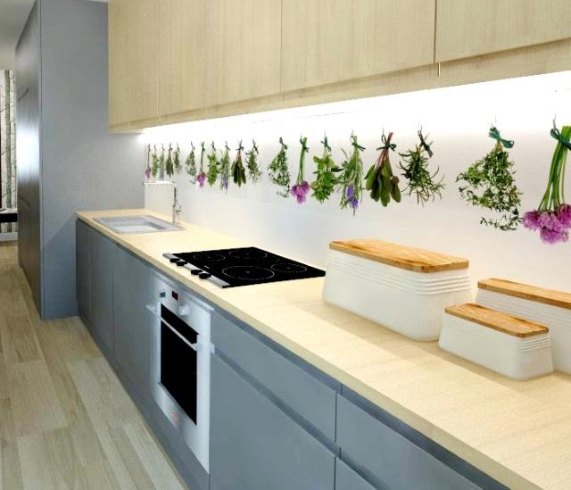 Kuchnia bez okna  wentylacja  Ciemna kuchnia  aranżacja   -> Kuchnia Otwarta A Wentylacja