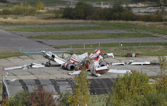 Jest polskie śledztwo ws. cięcia Tu-154 przez Rosjan
