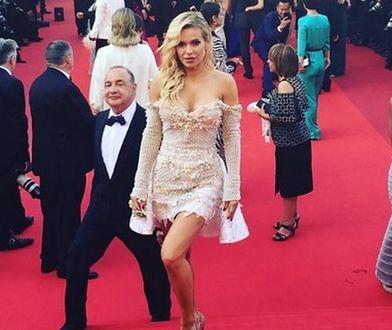 Doda zaprezentowała wdzięki w Cannes. Dobrze reprezentowała Polskę?