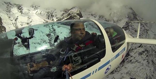 Polak wielokrotnym mistrzem świata. Jako pierwszy latał w Himalajach