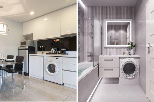 gdzie trzyma� pralkę w kuchni czy w �azience wp dom