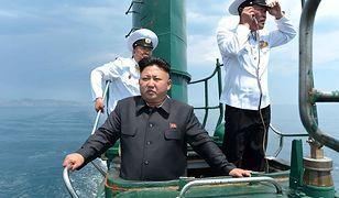 Kim Dzong Un straszy atakiem