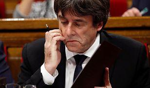 Carles Puigdemont zawahał się - i przegrał. Ale to dobra wiadomość