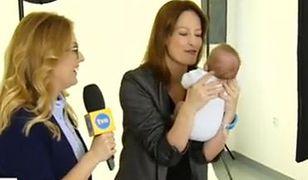 Magdalena Różczka pierwszy raz po porodzie!