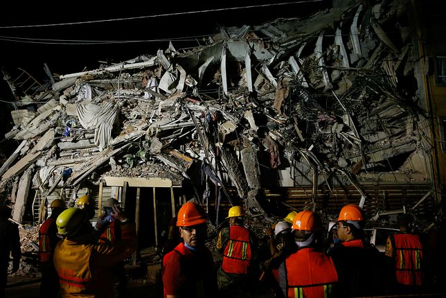 Trzęsienie ziemi nawiedziło Meksyk we wtorek