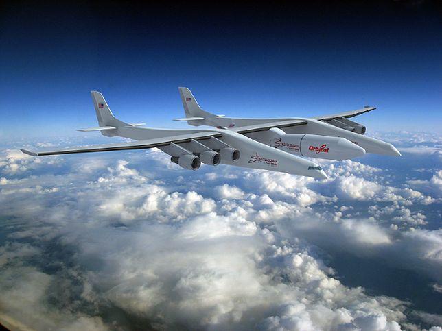 Stratolaunch - największy samolot świata niemal gotowy