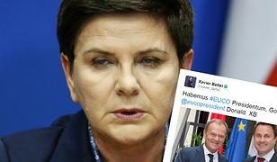 Beata Szydło nie wie, dlaczego protestowała przeciw kandydaturze Tuska. Premier Luksemburga obnaża grę PiS na unijnym szczycie