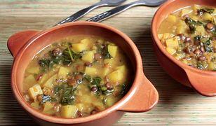 Rozgrzewająca zupa z soczewicy w 35 minut #przepisnadziś