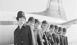 Podniebne anioły. Stewardesy w PRL-u i dziś