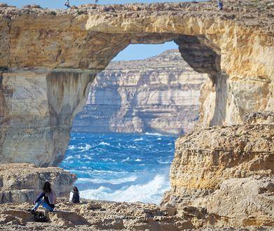 """Turyści na Malcie zszokowani. """"Gdzie jest Lazurowe Okno?"""""""