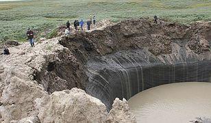 Tajemnica wielkich kraterów na Syberii